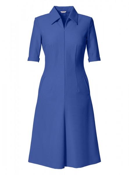kleid pola brilliantblau