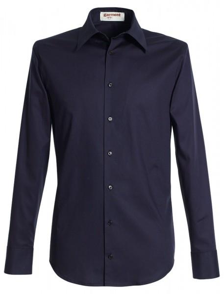 hemd kasimir nachtblau
