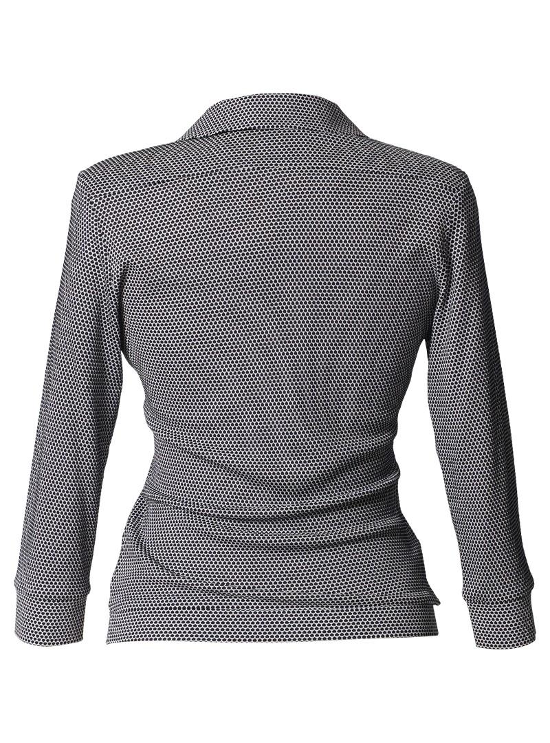 """shirt annabelle """"scales"""" blau/weiß"""