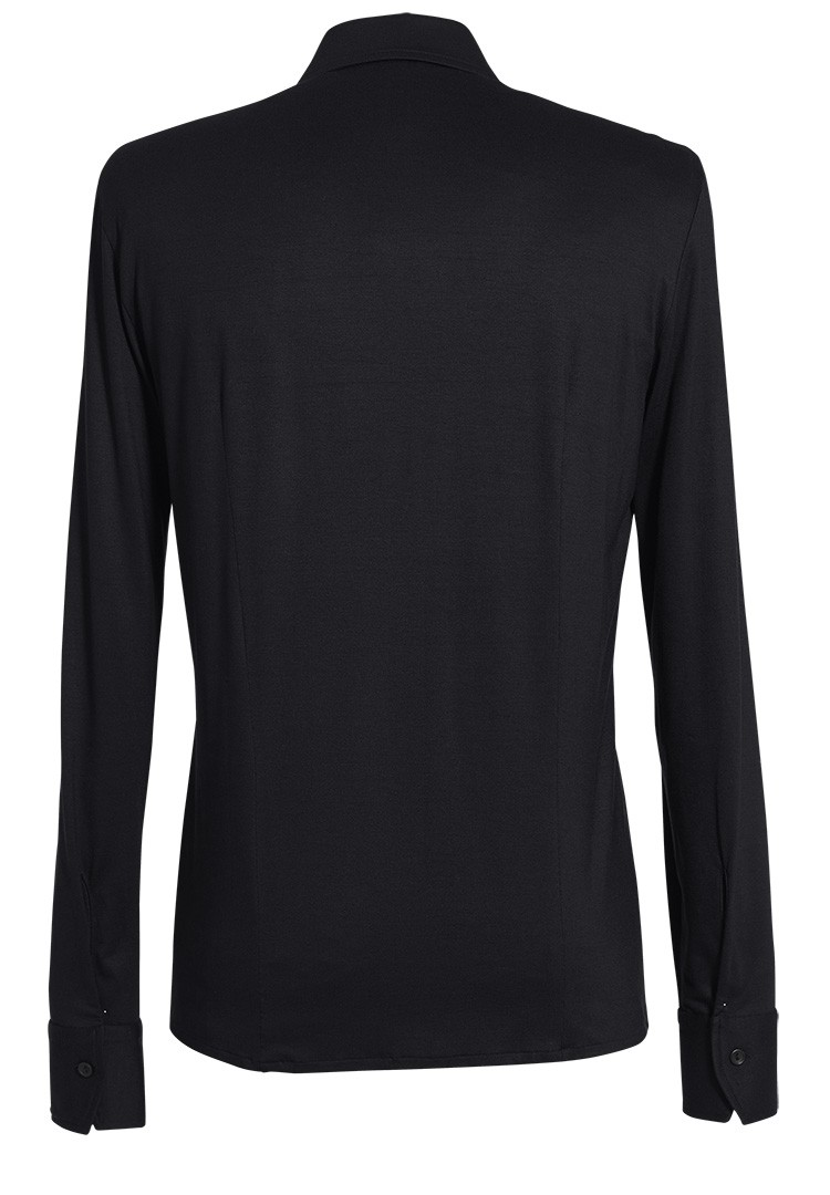 jerseyhemd luc schwarz