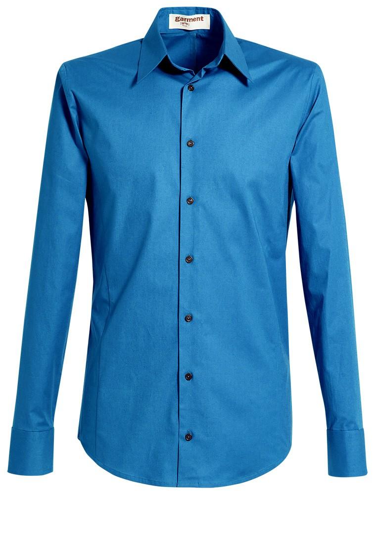 hemd rené brilliantblau