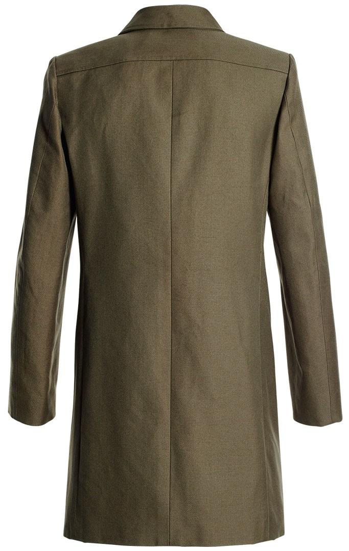 mantel waldemar moosgrün