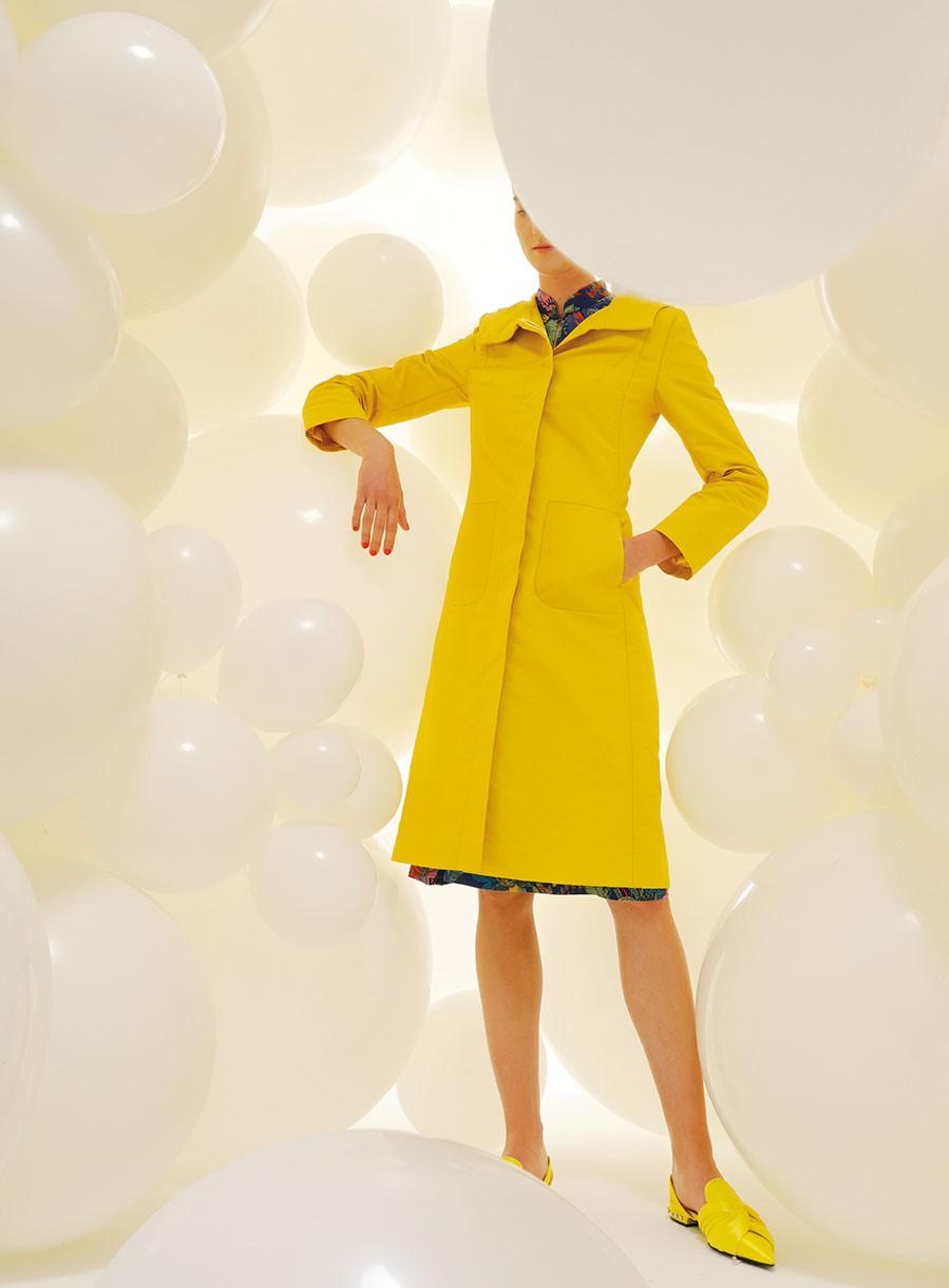 mantel luka gelb