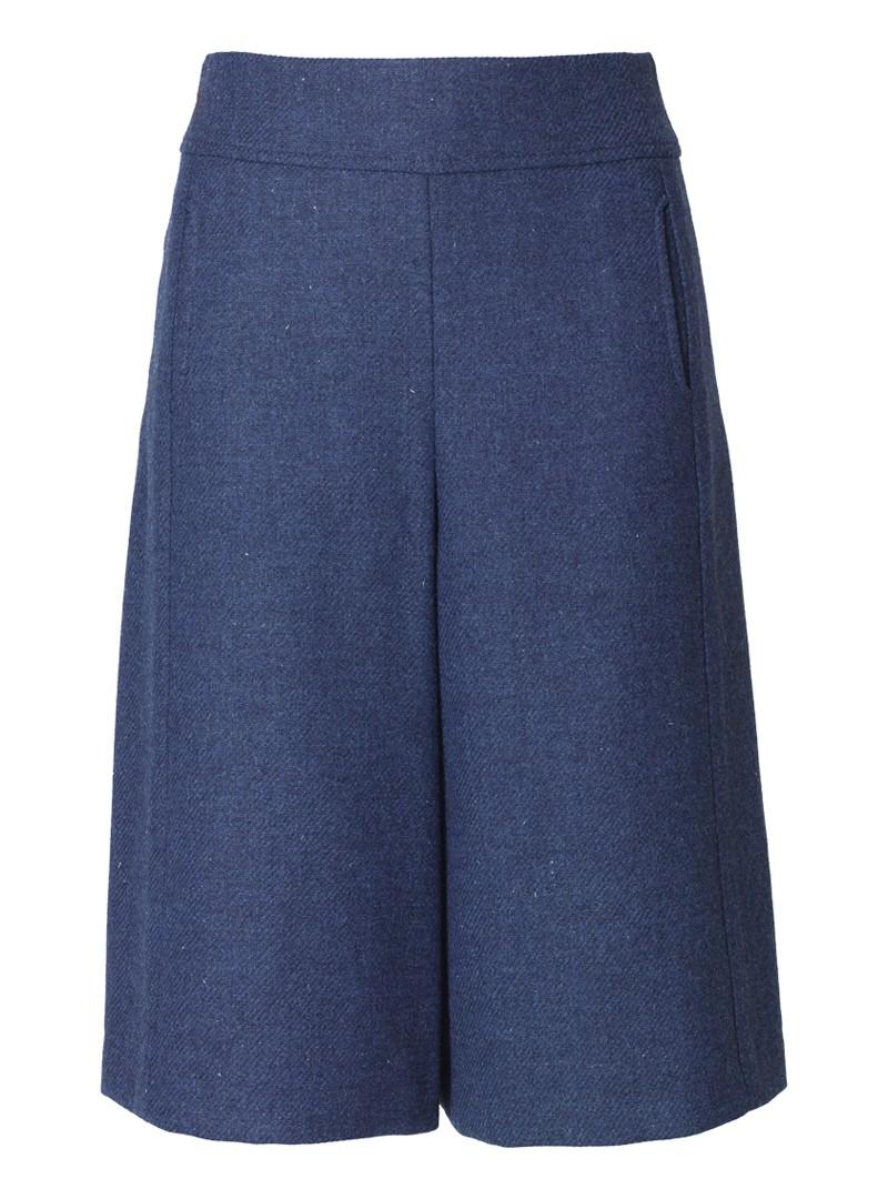 hosenrock kaja harris tweed blau