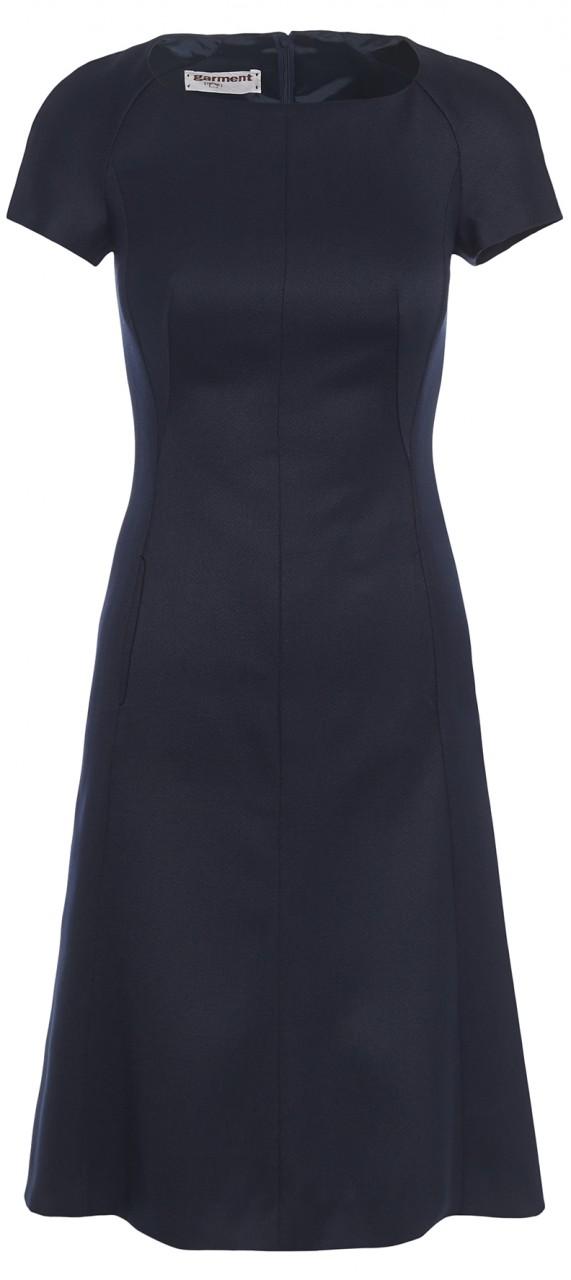 kleid emily dunkelblau