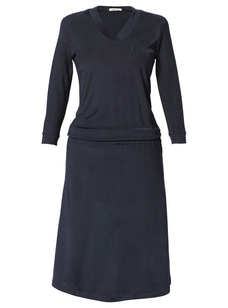 jerseykleid geraldine nachtblau