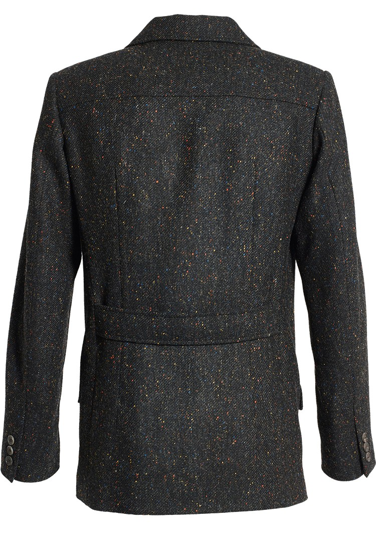 "jacke harvey ""harris tweed"" dunkel/bunt"