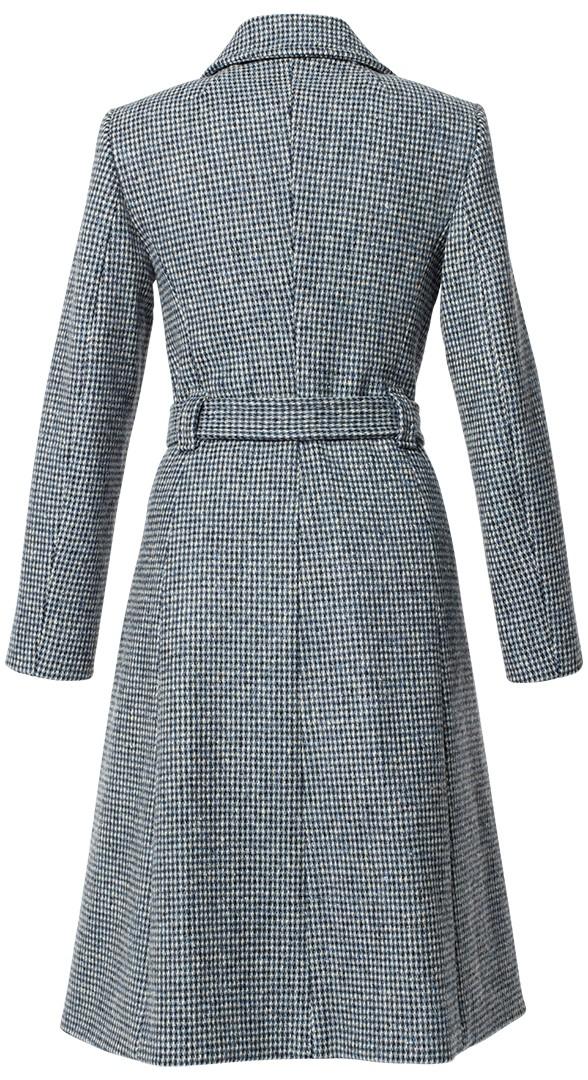 """mantel gela """"harris tweed"""" blau meliert"""